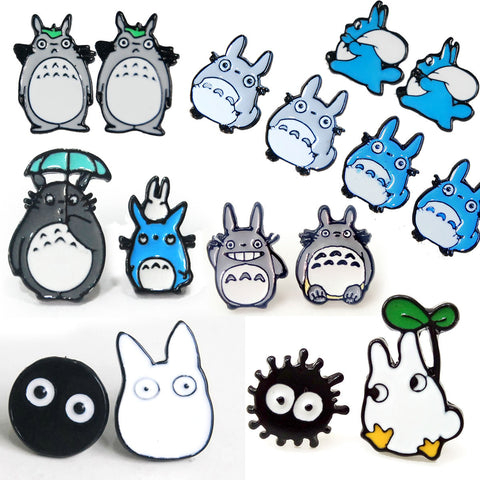 IUYZW CUTE TOTORO EARRINGS