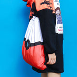 HARAJUKU STYLE PRINTED CANVAS BACKPACK BAGS 1