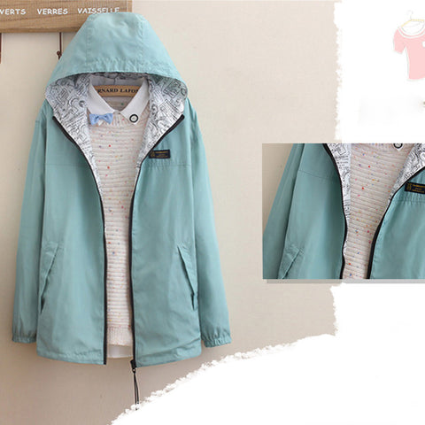 PASTEL TWO-SIDED JACKET