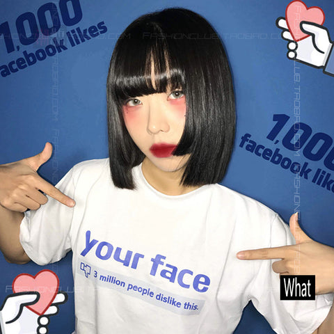 """YOUR FACE"" TEES"