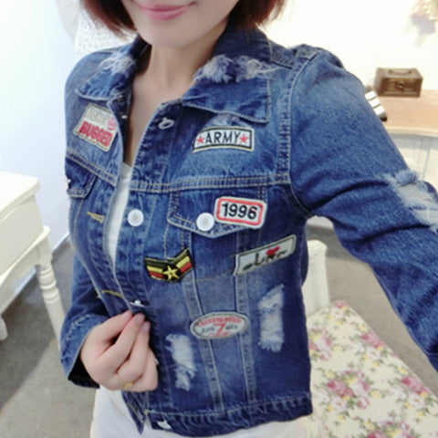 BADGE SLIM JACKET