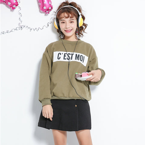 3 COLORS C'EST MOI SWEATER