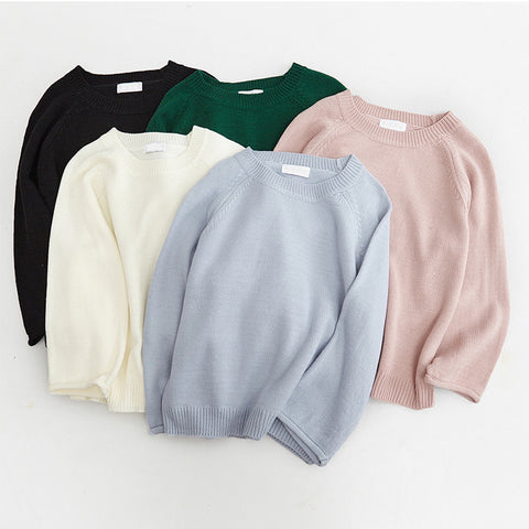 SlogPith PURE COLOR SWEATERS