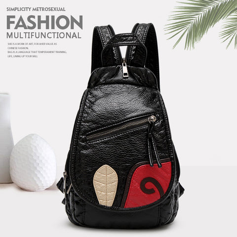 WASHING WATER SKIN MULTIFUNCTIONAL SPLICING BACKPACKS