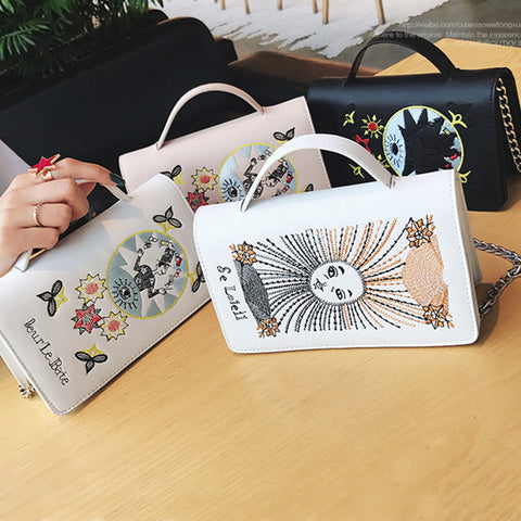 4 COLORS MAGICIAN OR SUN SHOULDER BAGS