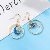 BLUE MOON STAR EARRINGS 1