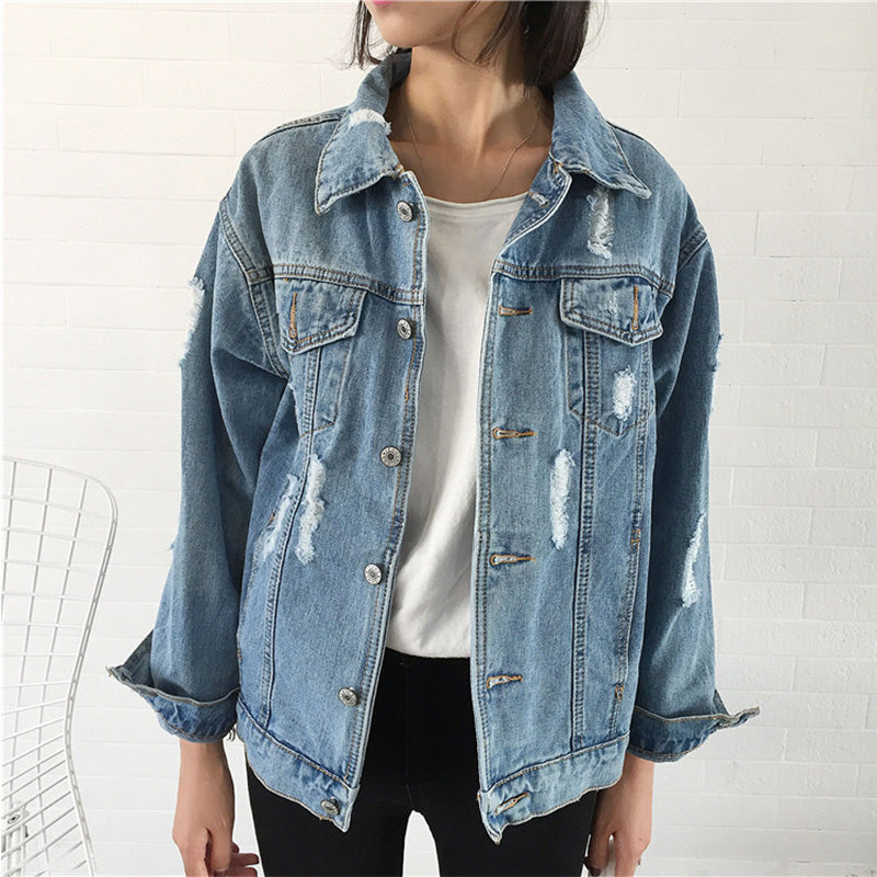 CASUAL LOOSE DENIM JACKETS