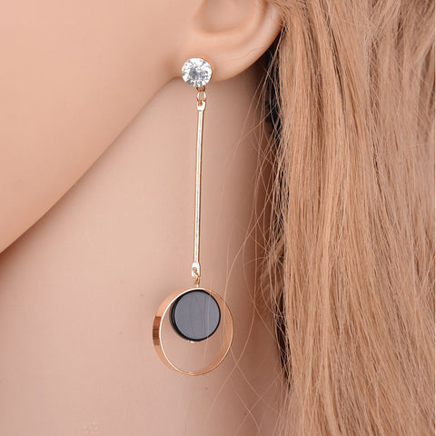 KOREAN PERSONALITY STUD EARRINGS
