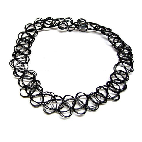 SlogPith BLACK CHOKERS (2 PCS)