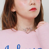 Transparent choker