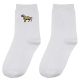 IUYZW GOLDEN DOG SOCKS