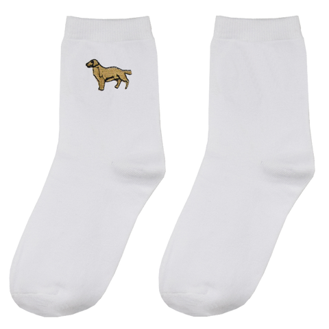 SlogPith GOLDEN DOG SOCKS