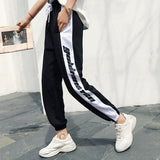 SlogPith HIP HOP LOOSE CASUAL PANTS