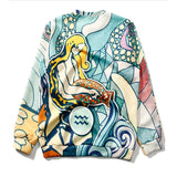 AQUARIUS PRINTING LOOSE SWEATERS