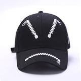 PERSONALITY FASHION ZIPPER HATS