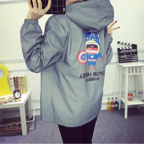 CARTOON PRINTING JACKET