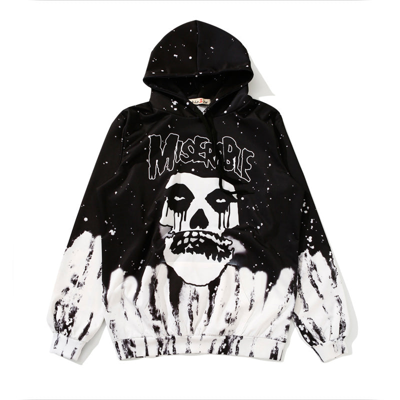 """MISERABLE"" SKULL HEAD SWEATERS"