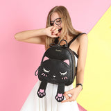 BLACK KITTY BACKPACK