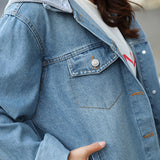 SlogPith HARAJUKU LOOSE DENIM JACKETS