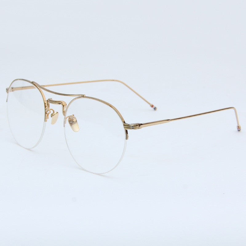 SlogPith METAL FRAME GLASSES