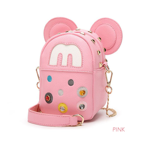 4 COLORS MICKEY FASHION BAGS