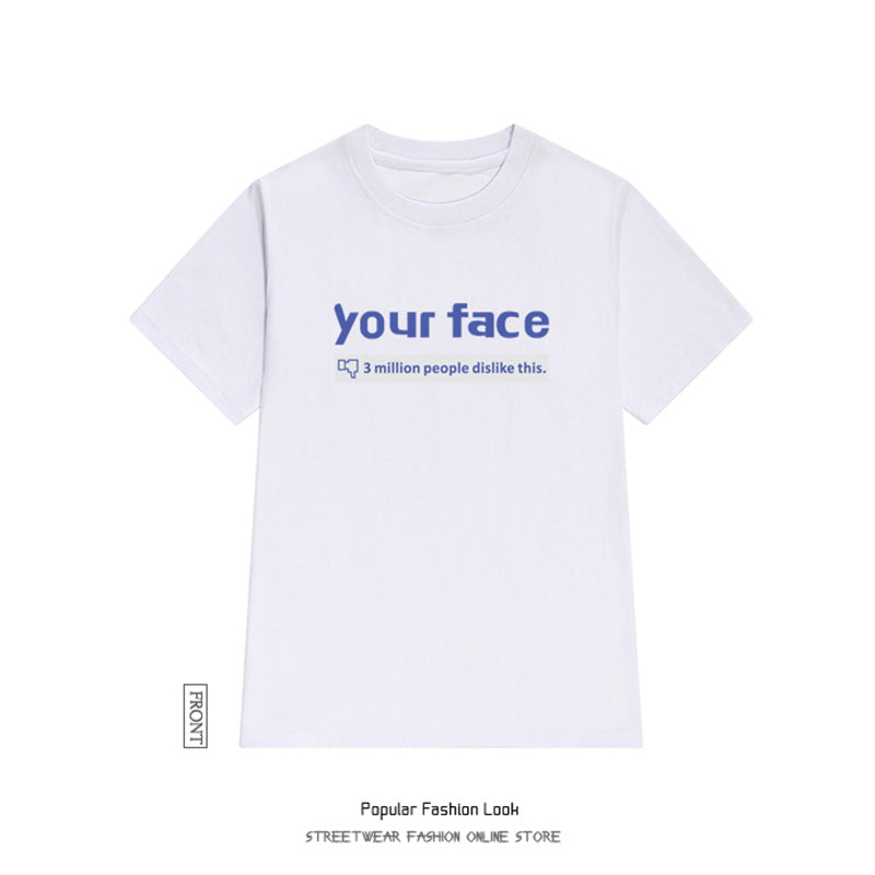 "SlogPith ""YOUR FACE"" TEES"