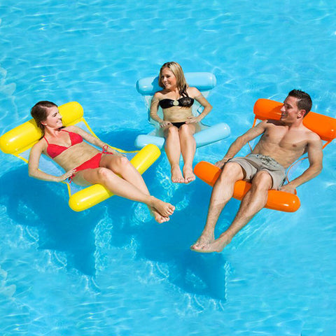 FOLDING WATER SOFA RECLINER FLOATING ROW
