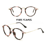 SlogPith 6 COLORS RADIATION PROTECTION RETRO LITERARY GLASSES
