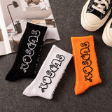 SlogPith VINTAGE HARAJUKU HIP HOP STREET LETTER COTTON SOCKS