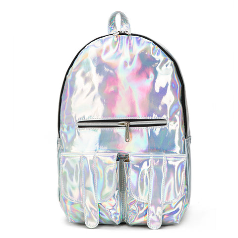 IUYZW HOLOGRAPHIC BACKPACK