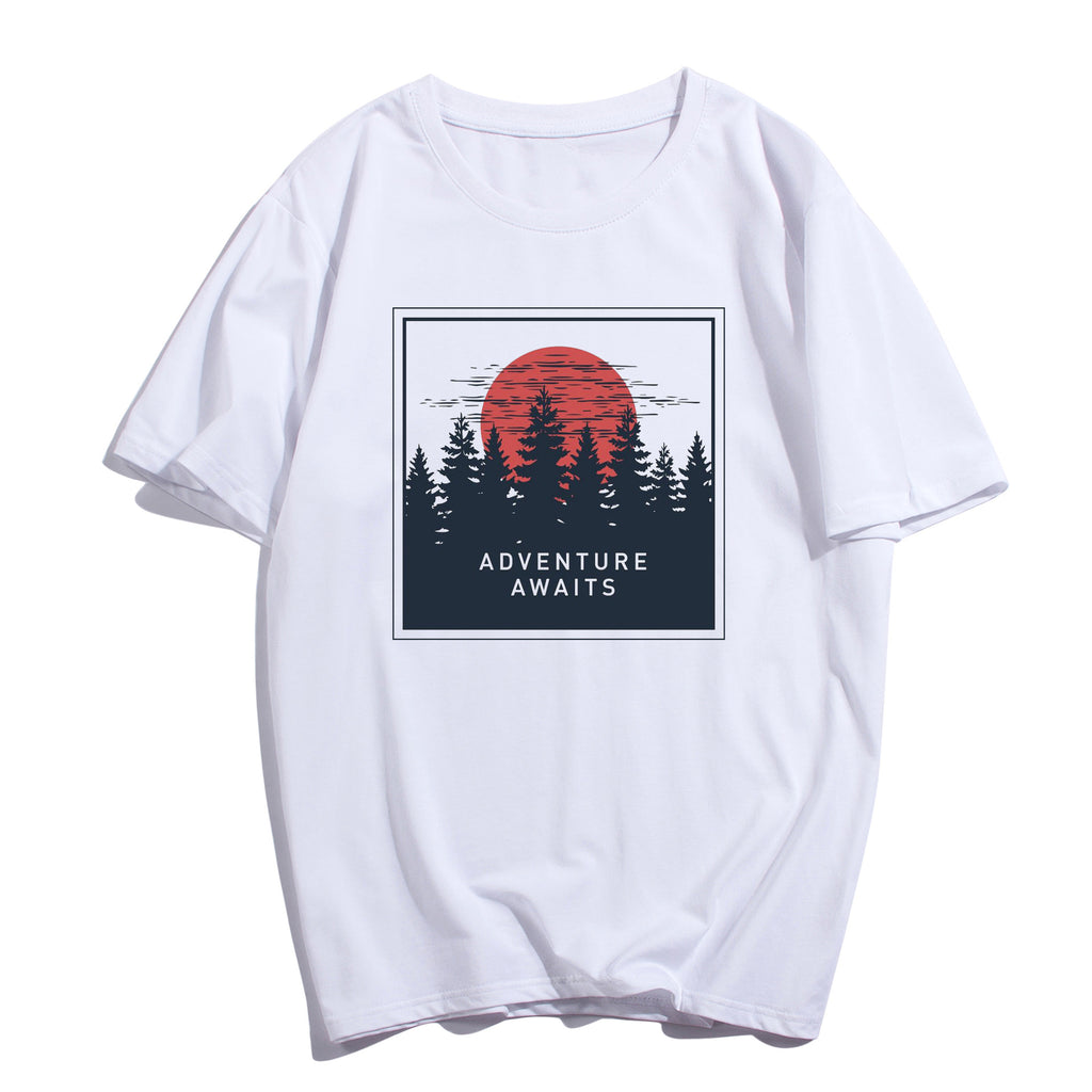 "IUYZW ""ADVENTURE AWAITS"" TEES"
