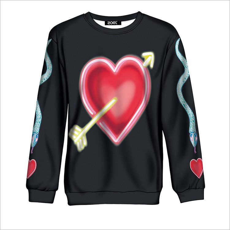 HARAJUKU HEART SWEATER