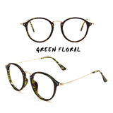 6 COLORS RADIATION PROTECTION RETRO LITERARY GLASSES