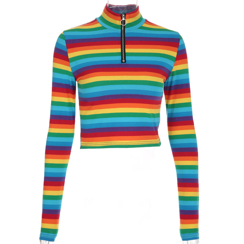 RAINBOW LONG SLEEVE TOPS