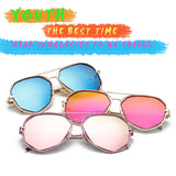 6 COLORS GEOMETRIC FRAME POLARIZED SUNGLASSES