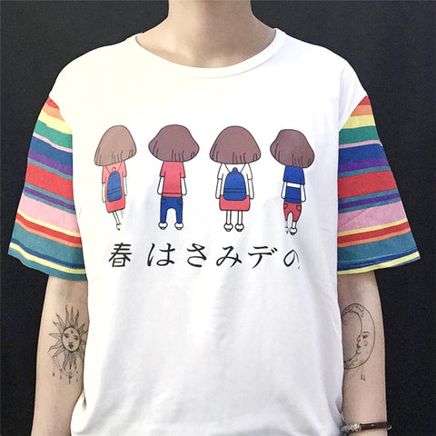 CARTON RAINBOW T-SHIRT