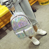 HOLOGRAPHIC BACKPACK