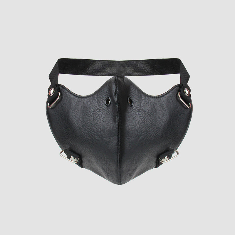 SlogPith SMOOTH LEATHER MASKS