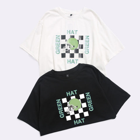 "IUYZW ""GREEN HAT"" TEES"