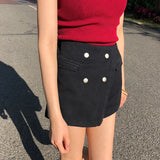 IUYZW RIVETS CASUAL SHORT BOTTOMS