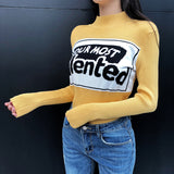"IUYZW ""YOUR MOST TALENTED"" KNITTED SWEATERS"
