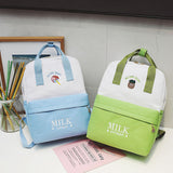 IUYZW JAPANESE STYLE FRUIT MILK BACKPACK BAGS