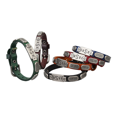 RETRO ALLOY LEATHER BRACELET