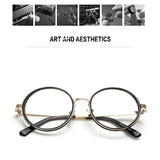 SlogPith 8 COLORS RETRO METAL ROUND GLASSES