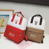JAPANESE STYLE FRUIT MILK BACKPACK BAGS