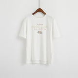 "IUYZW THE SPECIAL ""ROSE CLUB"" SHORT SLEEVE TOPS"