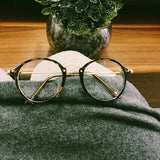 VINTAGE METAL GLASSES