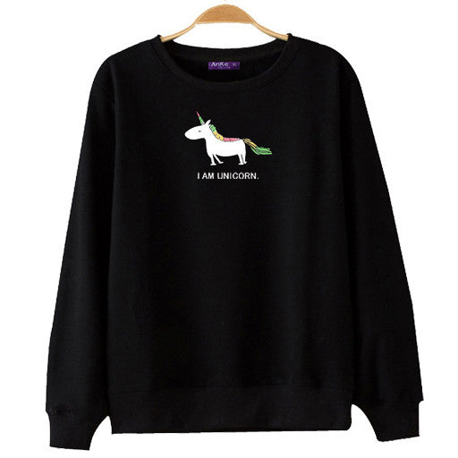 I AM UNICORN SWEATER