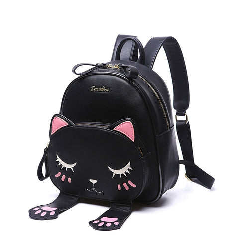 IUYZW BLACK KITTY BACKPACK