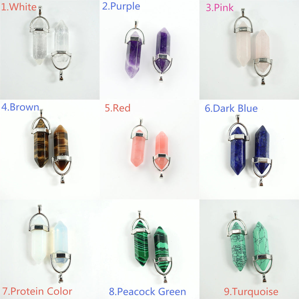 BULLET QUARTZ NECKLACES